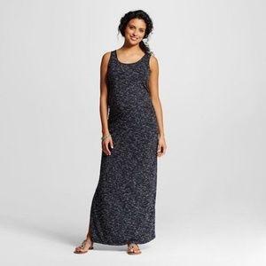 Liz Lange Maternity Spacedye Maxi Tank Dress XXL